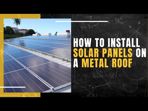 How to Install Solar Panels on a Metal Roof