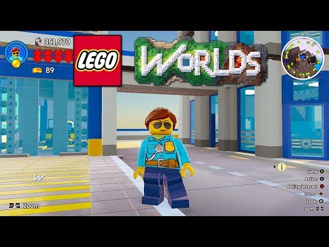LEGO Worlds LEGO Rescue Police Station, Fire Station and Airport Added to Brick Builds