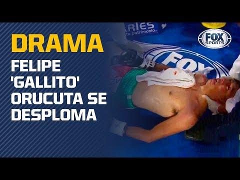 Drama en el ring: Felipe &39;Gallito&39; Orucuta se desploma en la lona