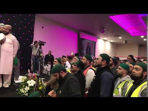 Sahabzada Haq Khateeb Hussain ali Badshah Shuhada e Karbala Conference Birmingham 2017 Part 36