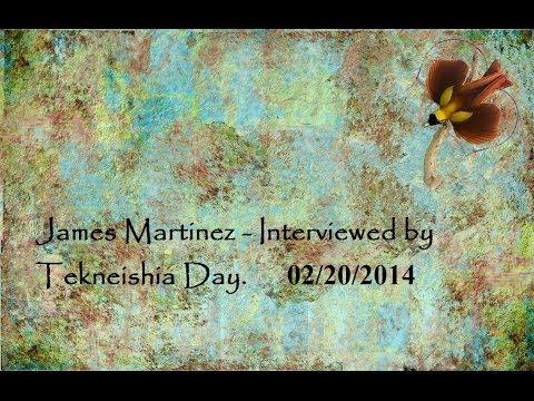 James Martinez is Interviewed by Tekneishia Day.