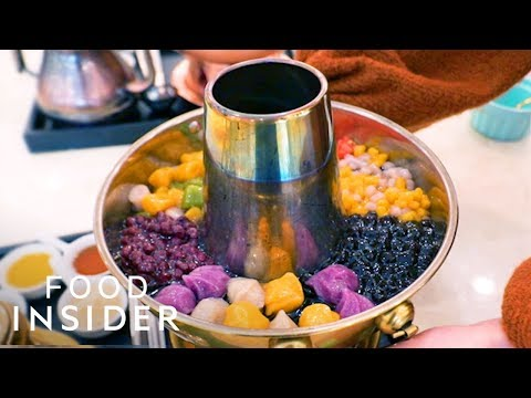 What Bubble-Tea Hot Pot Tastes Like | What's It Taste Like