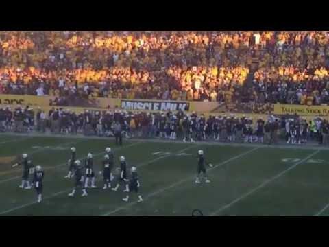 Sun Devil Stadium Inferno Vs. Notre Dame