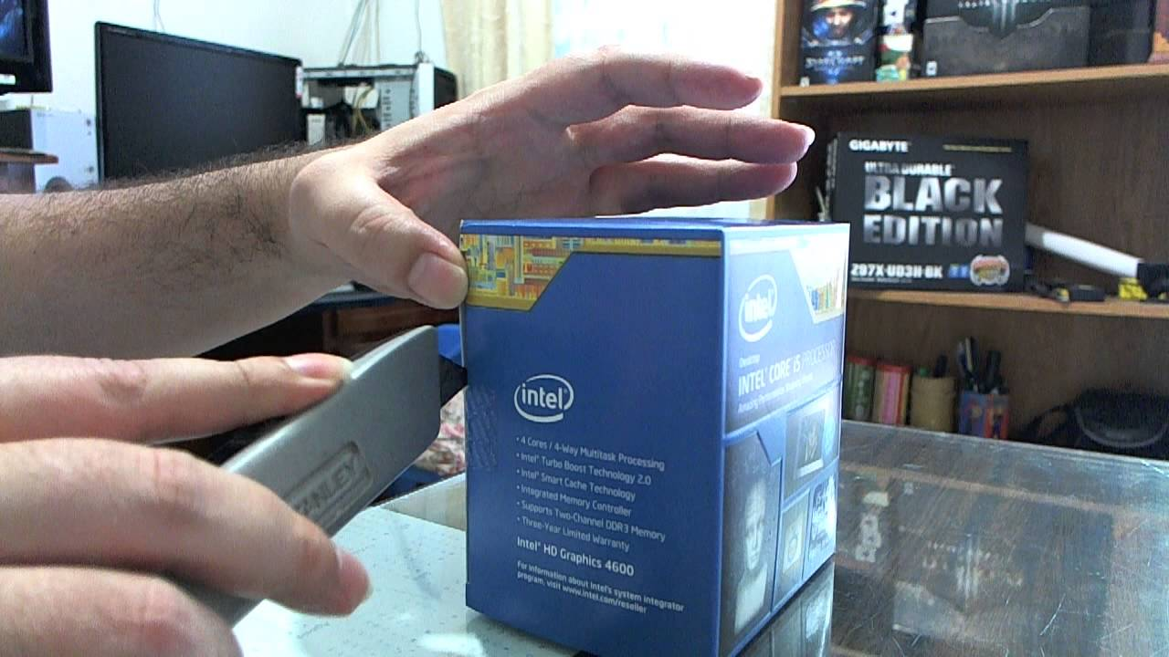 Intel Core i5 4440 Haswell Unboxing