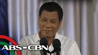 President Rodrigo Duterte on Tuesday reacted to a viral social medi...