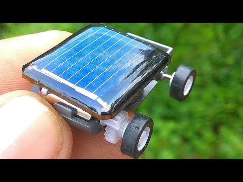 Worlds smallest solar car | amazing ideas