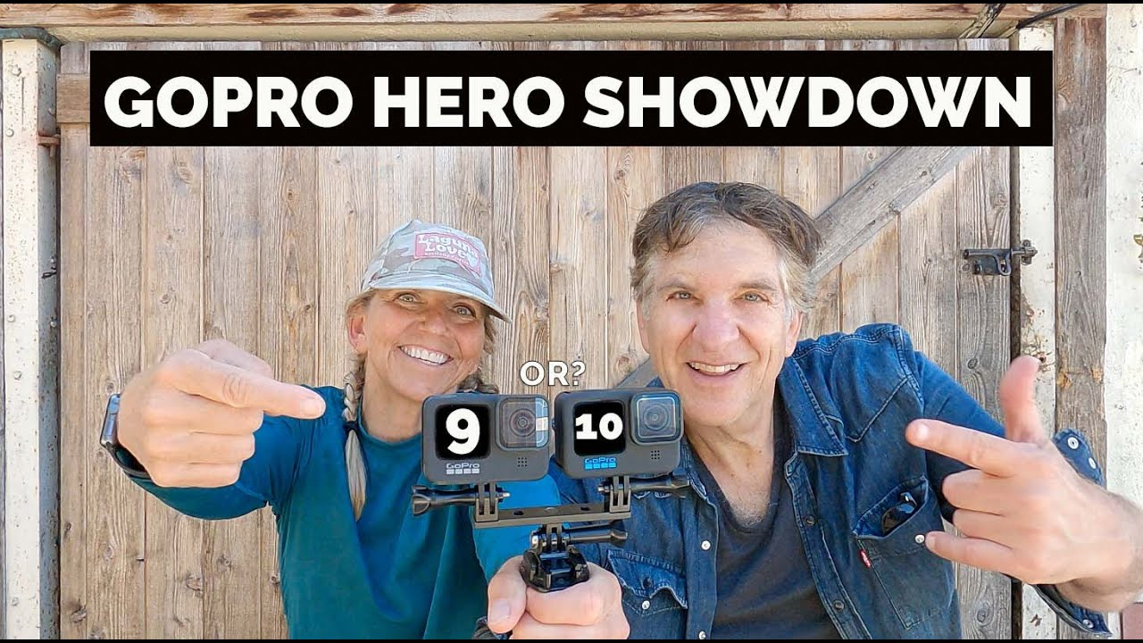 The awesome GoPro Hero 10 vs. the Hero 9