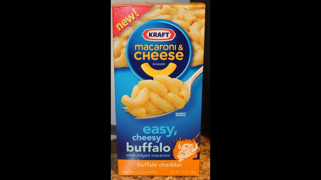 buffalo cheddar kraft mac and cheese review
