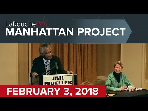 Manhattan Town Hall event with Diane Sare and Dennis Speed
