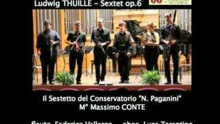 Ludwig Thuille Sextet for Piano & Wind Quintet Op.6