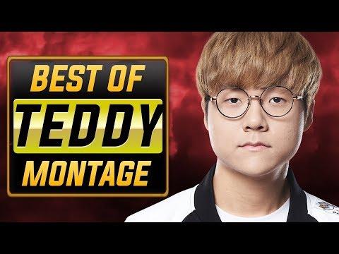 "Teddy ""Insane ADC"" Montage | Best Of T1 Teddy"