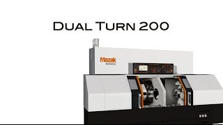 DUAL TURN200 : Twin spindle / twin turret turning center