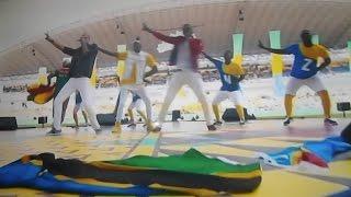 DIAMOND & MOHOMBI wimbo wa pamoja kwenye uzinduzi AFCON 2017