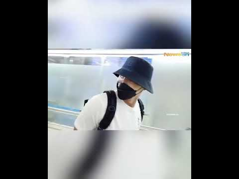 Hyun Bin departure to Jordan - YouTube