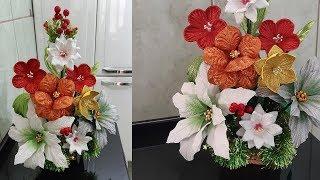 Luxuoso Arranjo Floral Natalino