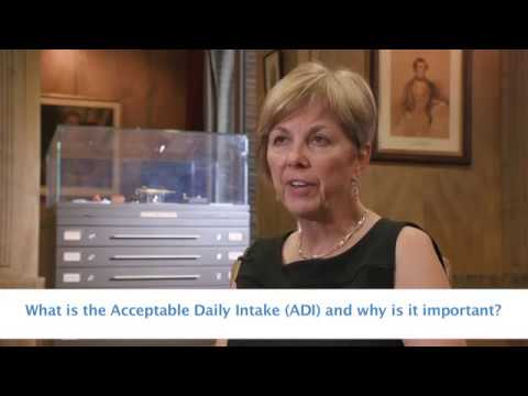 What is the Acceptable Daily Intake (ADI)?