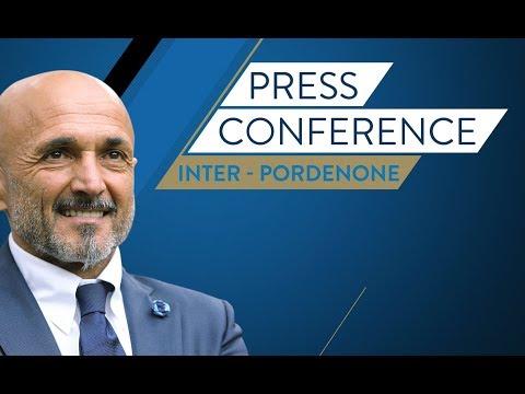 Live! Luciano Spalletti's press conference ahead of Inter vs. Pordenone HD|SUBS