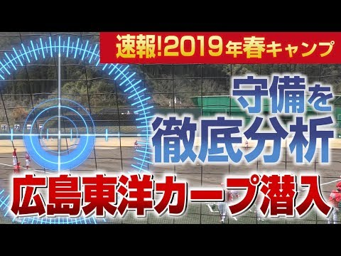 【2019広島カープ】高木豊さんがカープの守備について解説!