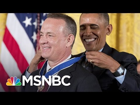 Tom Hanks Reacts To Being Awarded Medal Of Freedom   MSNBC