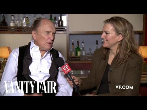 Robert Duvall - Behind The Scenes Interview At Her Vanity Fair Hollywood Issue Cover Shoot