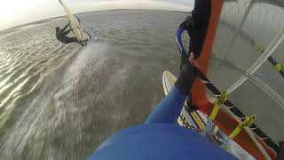 18.12.2018 windsurfing at Ray Chalkwell