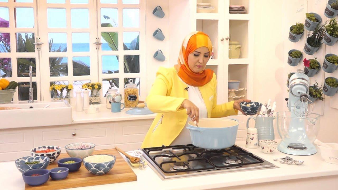 قابولي باللحم و بودينج بالموز مع أسيا عثمان فى مطبخ أسيا (الجزء الأول)