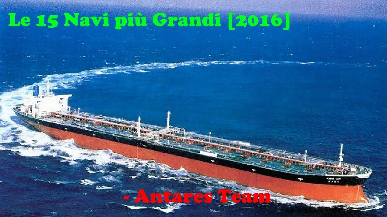 Le 15 navi pi grandi del mondo crociere petroliere e for La villa piu grande del mondo
