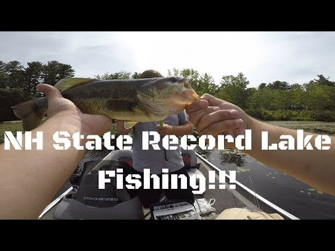 Fishing The NH STATE RECORD HOLDING Lake!