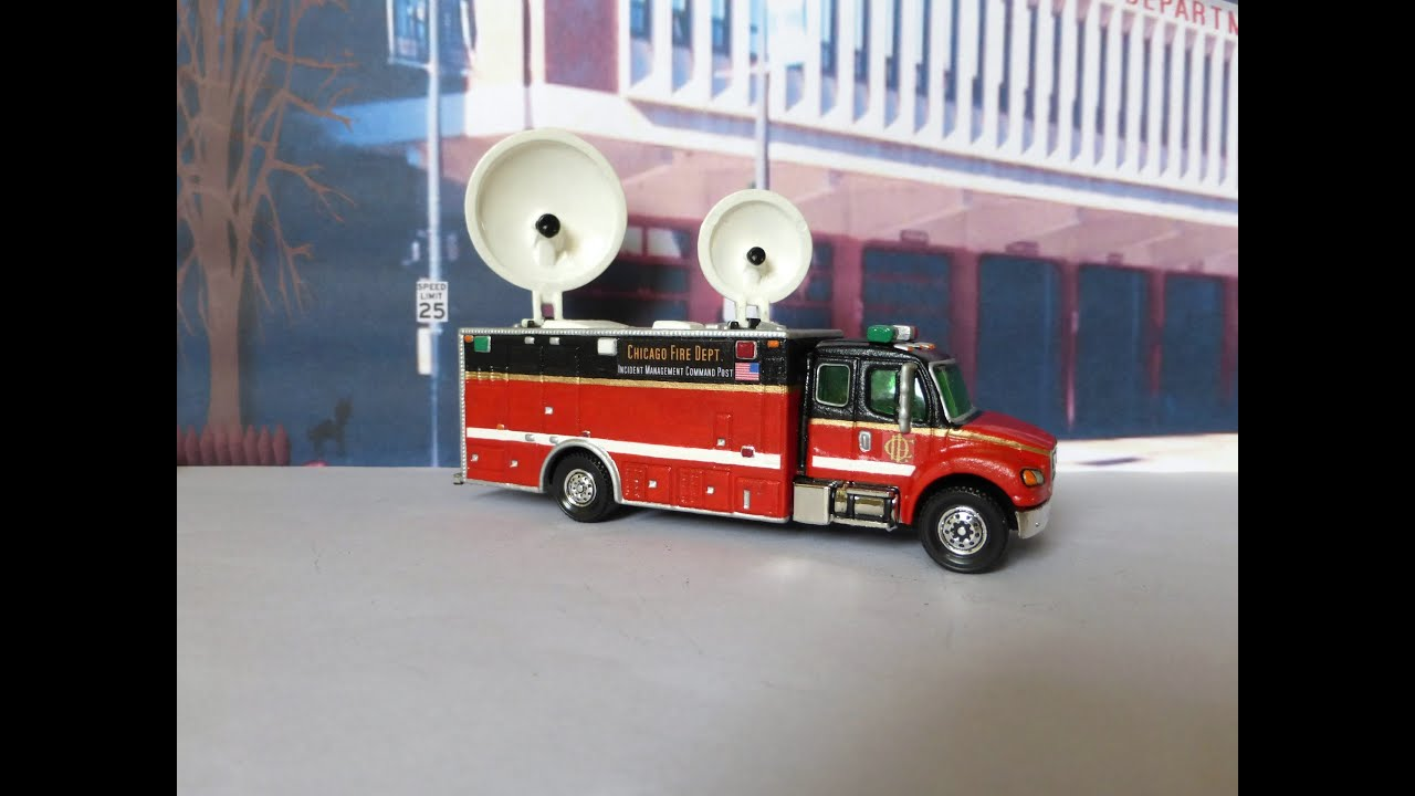 Matchbox Satellite Communications Truck 2010 - YouTube