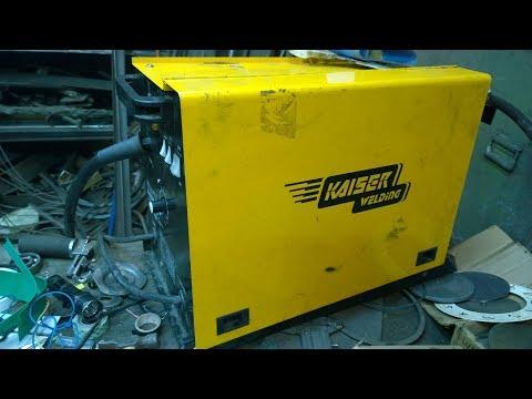Ремонт и доработка сварочного полуавтомата Kaiser Mag 195 R