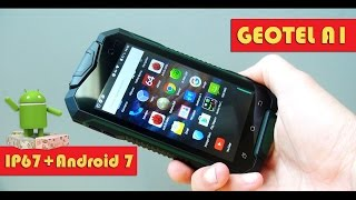 GEOTEL A1 - китайцы жгут: Android 7 в броне IP67 за 70$! (обзор смартфона)