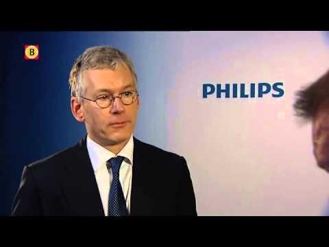 Topman Frans van Houten over winst Philips: 'We hebben duidelijke vooruitgang geboekt'