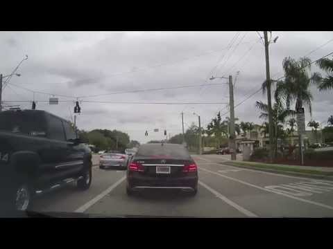 Driving from Boca Raton to Highland Beach, Florida