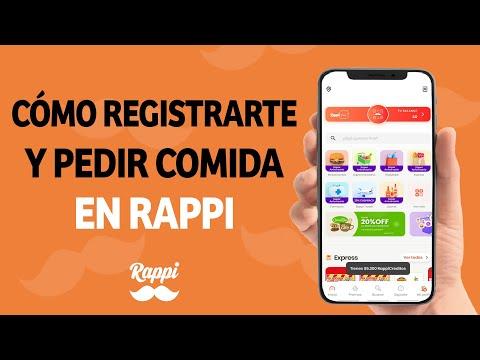 Cómo Registrarte y Empezar a Pedir Comida por la App de Rappi - Muy Fácil