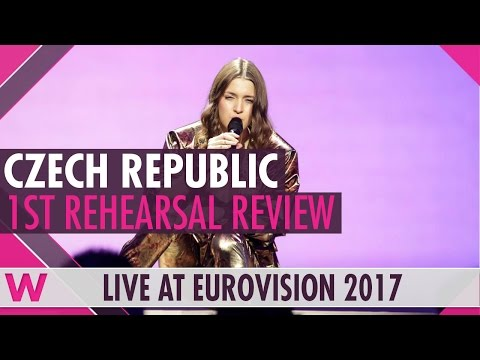 "Czech Republic First Rehearsal: Martina Barta ""My Turn"" @ Eurovision 2017 (Review)"