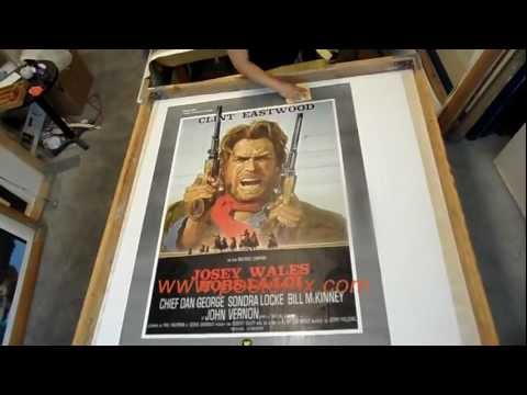 Restoring OUTLAW JOSEY WALES 2-sheet Poster