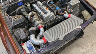 Turbo K24 Nissan Cefiro. most satisfying project yet. It's finally done.