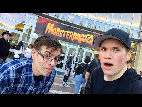 Scary Fun at Monsterpalooza 2018 - Horror Movie Convention