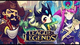 ★ League of Legends - Moja woda bije mocno! (Nami/Support)