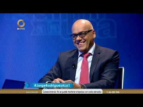 Jorge Rodríguez: Depende de Trump que los venezolanos puedan votar en EEUU (3/4)