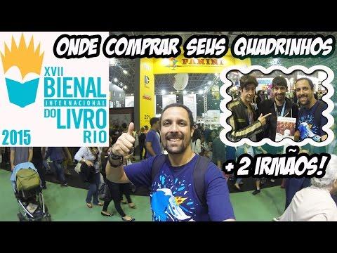 Bienal do Livro do Rio - Onde comprar seus quadrinhos e 2 Irmãos