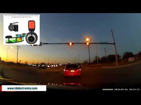 Top Dawg Electronics LX WIFI DASH CAM Driving Video