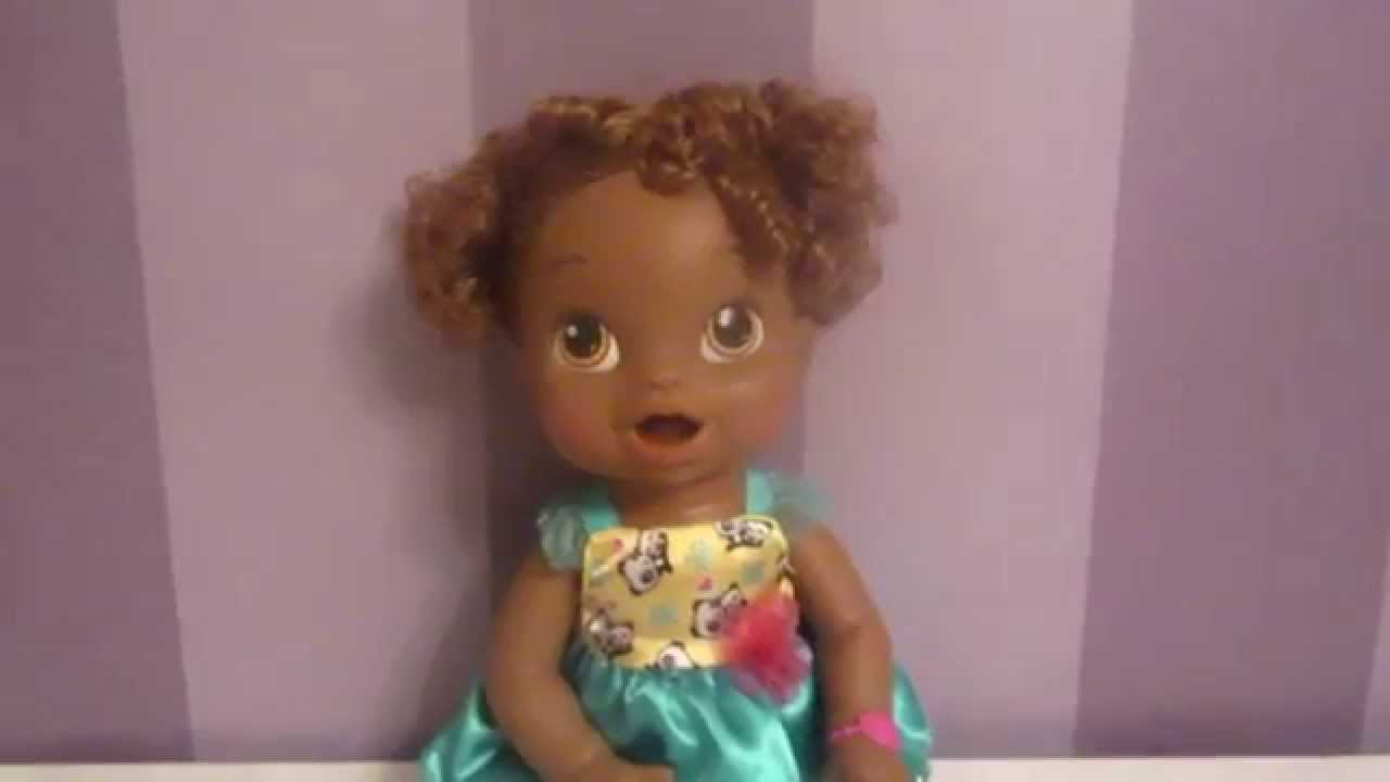 My New African American Baby Alive Name Reveal Youtube