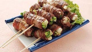 【楊桃美食網】蔥捲烤肉串
