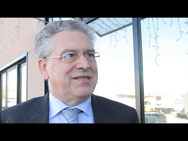 INIZIO CANTIERE SNODO AUTOSTRADALE A30   INTERVISTA AD ANDREA DE FILIPPO