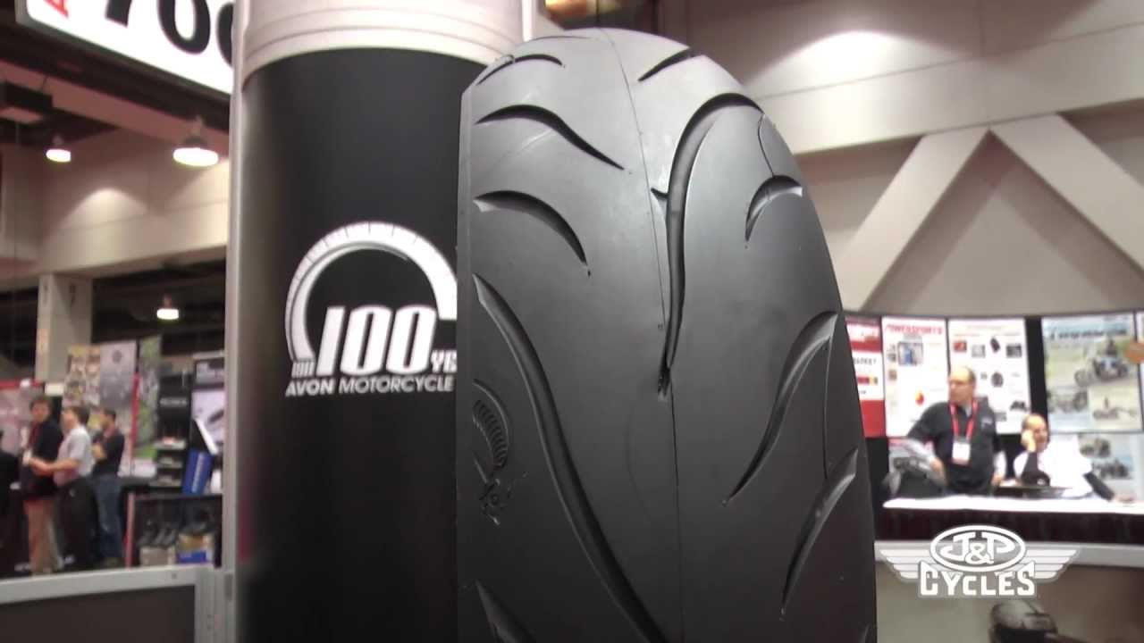 Avon Motorcycle Tires >> Avon Cobra AV71 (front) / AV72 (rear) Whitewall Motorcycle Tire • JPCYCLES.COM - YouTube
