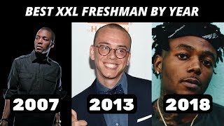 Best Rapper From Every XXL Freshman Class (2007-2018)