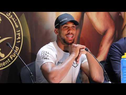 ANTHONY JOSHUA (FULL) POST-FIGHT PRESS CONFERENCE AFTER BEAT