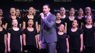 Download Hugh Jackman and Keala Settle and the Australian Girls Choir. Filmed for BroadwayWorld Sydney Mp3 and Videos