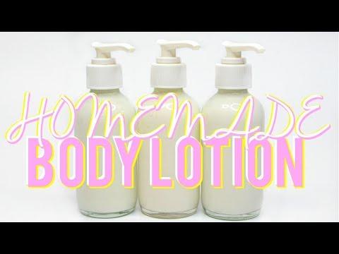 HOMEMADE BODY LOTION, How To Body Moisturizer Ι TaraLee